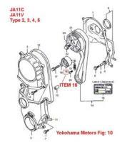 Suzuki jimny JA11V JA11V Tensioner