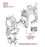 Suzuki Jimny Timing Belt JA11V JA11C