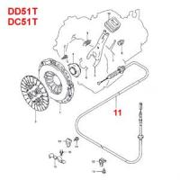 Suzuki Carry Clutch Cable DD51T, DC51T