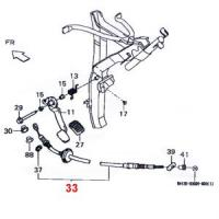 Daihatsu Hijet Clutch Cable S82, S83 5-Speed MT