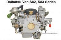 Daihatsu Hijet S82, S83 Series Van Factory Rebuilt Carburetor