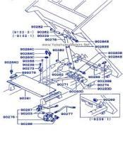 Mitsubishi Minicab: U42T Dump Option: Hydraulic Hose Replacement
