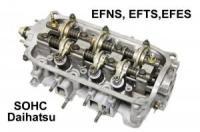 Daihatsu Hijet S110P SOHC 2 Valve Rebuilt Cylinder Head