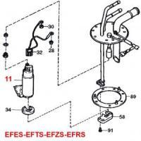 Daihatsu Hijet S100 Series EFES EFTS EFZS EFRS Engine Series Electric Fuel Pump