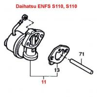Daihatsu Hijet S110P & Midget EFNS Engine Series Mechanical Fuel Pump