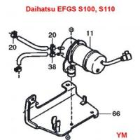 Daihatsu Hijet S110P Truck EFGS Engine Series Electrical Fuel Pump