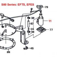 Daihatsu Hijet S80 Series EFTS, EFES 660cc Engine Series Electric Fuel Pump
