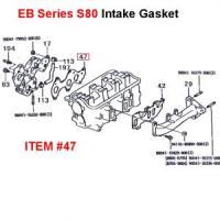 Daihatsu EB Engine Intake Gasket S80 Series