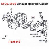 Daihatsu EFCS EFVS EFNS EFCK Exhaust Manifold Gasket