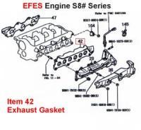 Daihatsu EFES Engine Exhaust Manifold Gasket S80 Series
