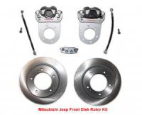 Mitsubishi Jeep Disk Brake Conversion Kit J24, J38, All J50 Series