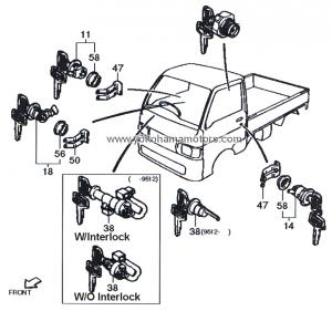 S110P_Ignition_Switch_0001 daihatsu s100, s110, s120, s130 fuel door lid lock kit Basic Electrical Wiring Diagrams at nearapp.co