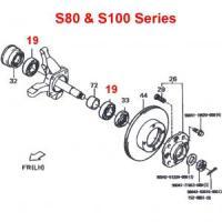 Daihatsu Hijet Front Wheel Bearings S80 & S100 Series (all) 4WD